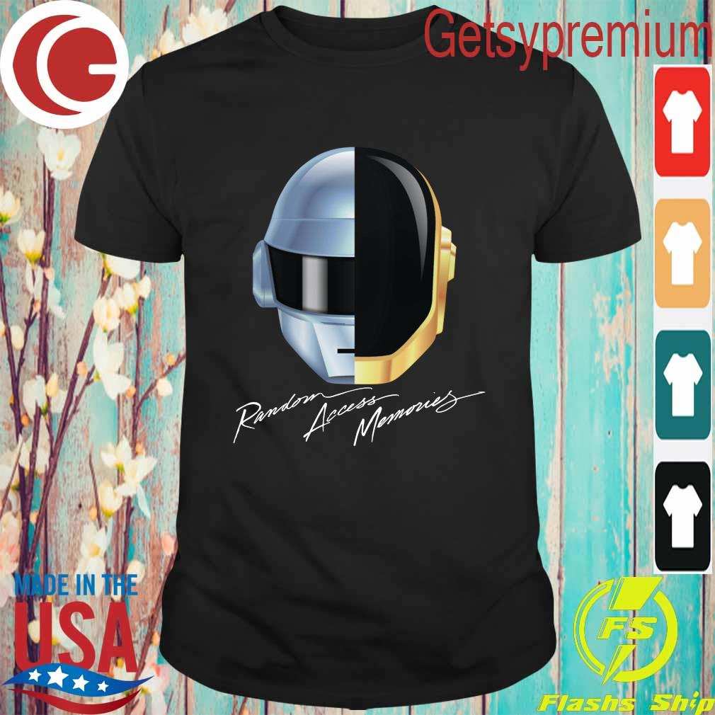 New Daft Punk Random Access Memories Electro Music shirt