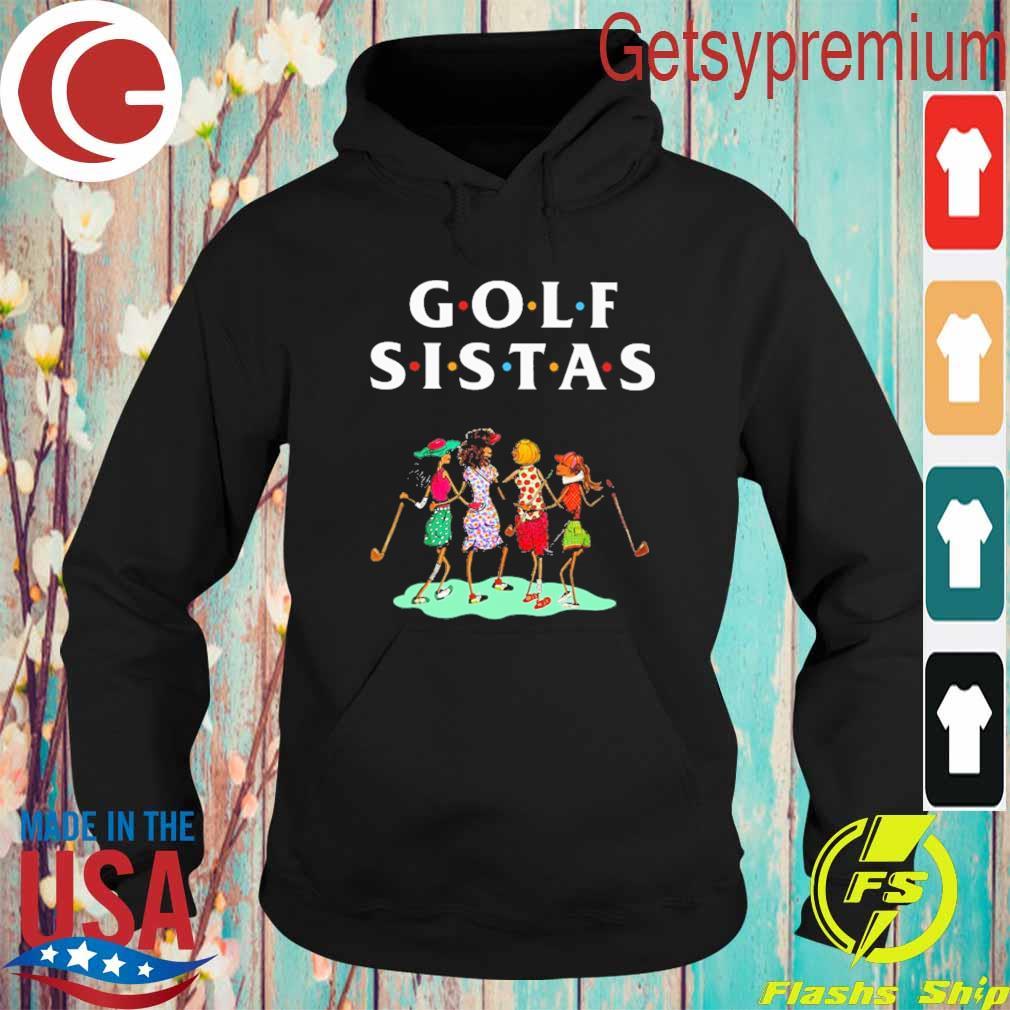 Official Golf Sistas Womens s Hoodie