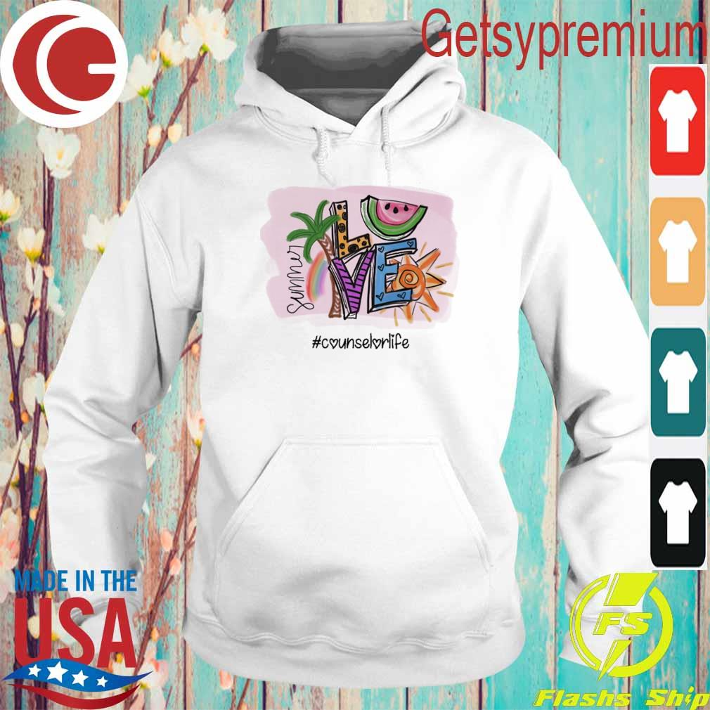 Summer Love #Counselor Life s Hoodie