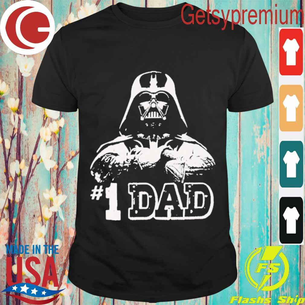 Darth Vader # 1 Dad shirt