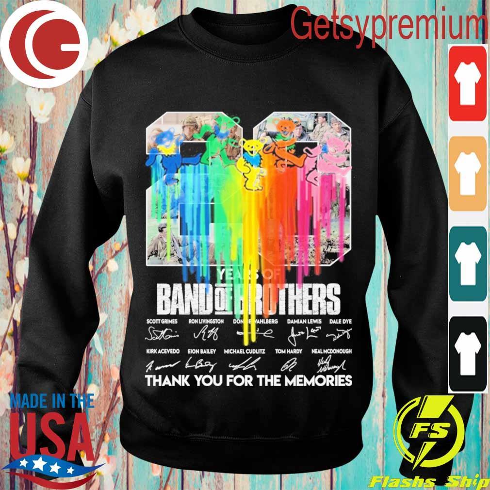 Grateful dead dancing Bears Heart s Sweatshirt