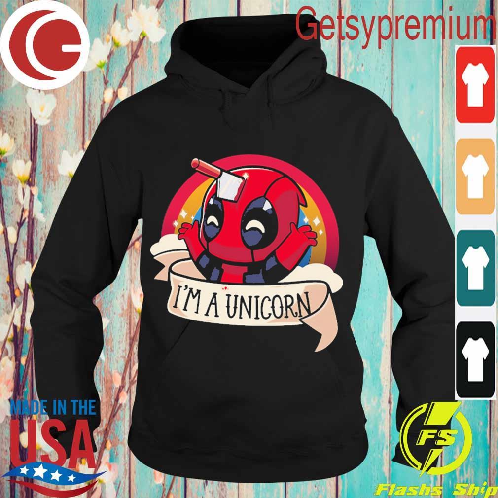 Baby Deadpool I'm a unicorn s Hoodie