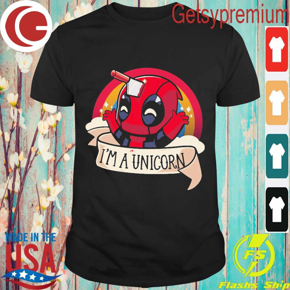 Baby Deadpool I'm a unicorn shirt