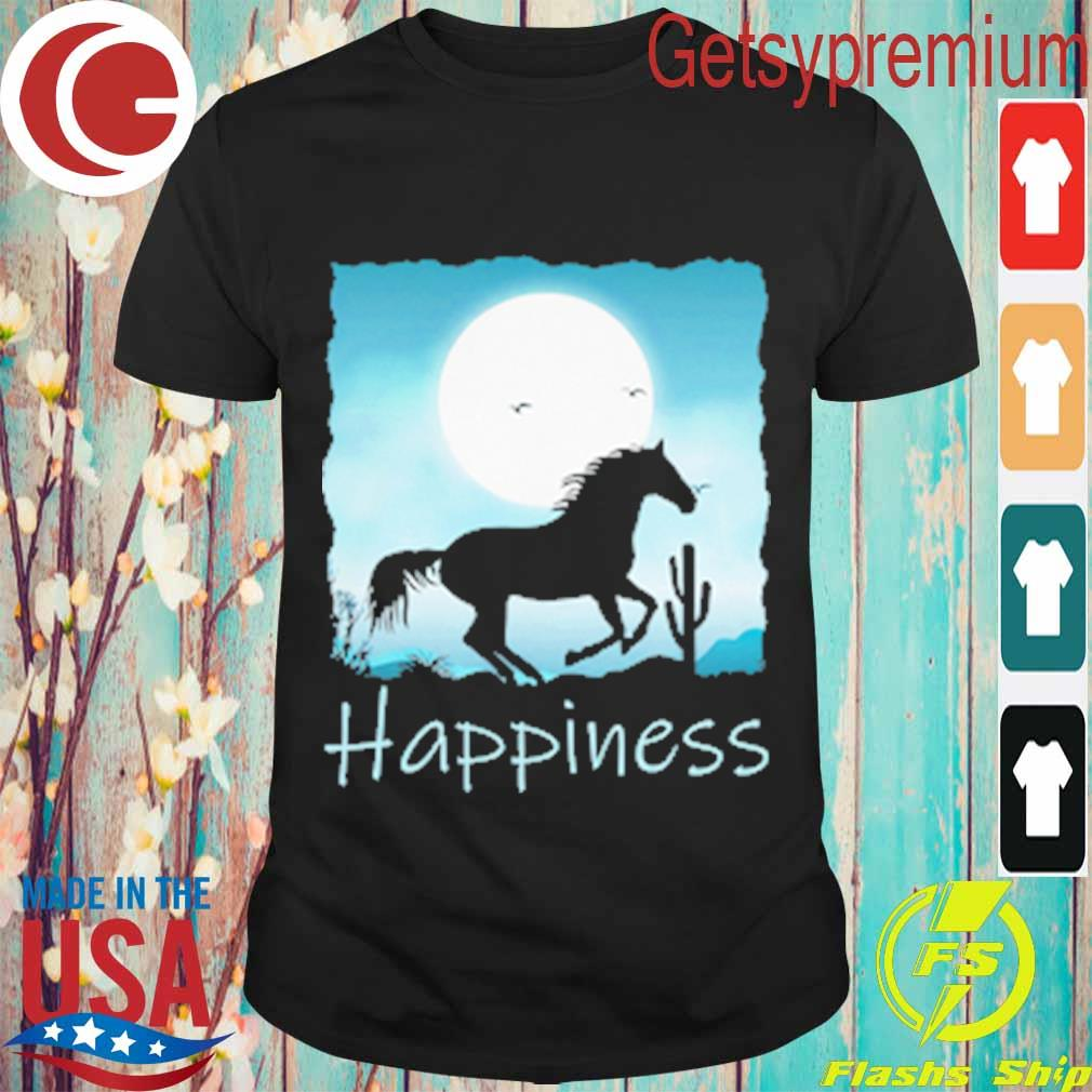 Horse moon Happiness shirt