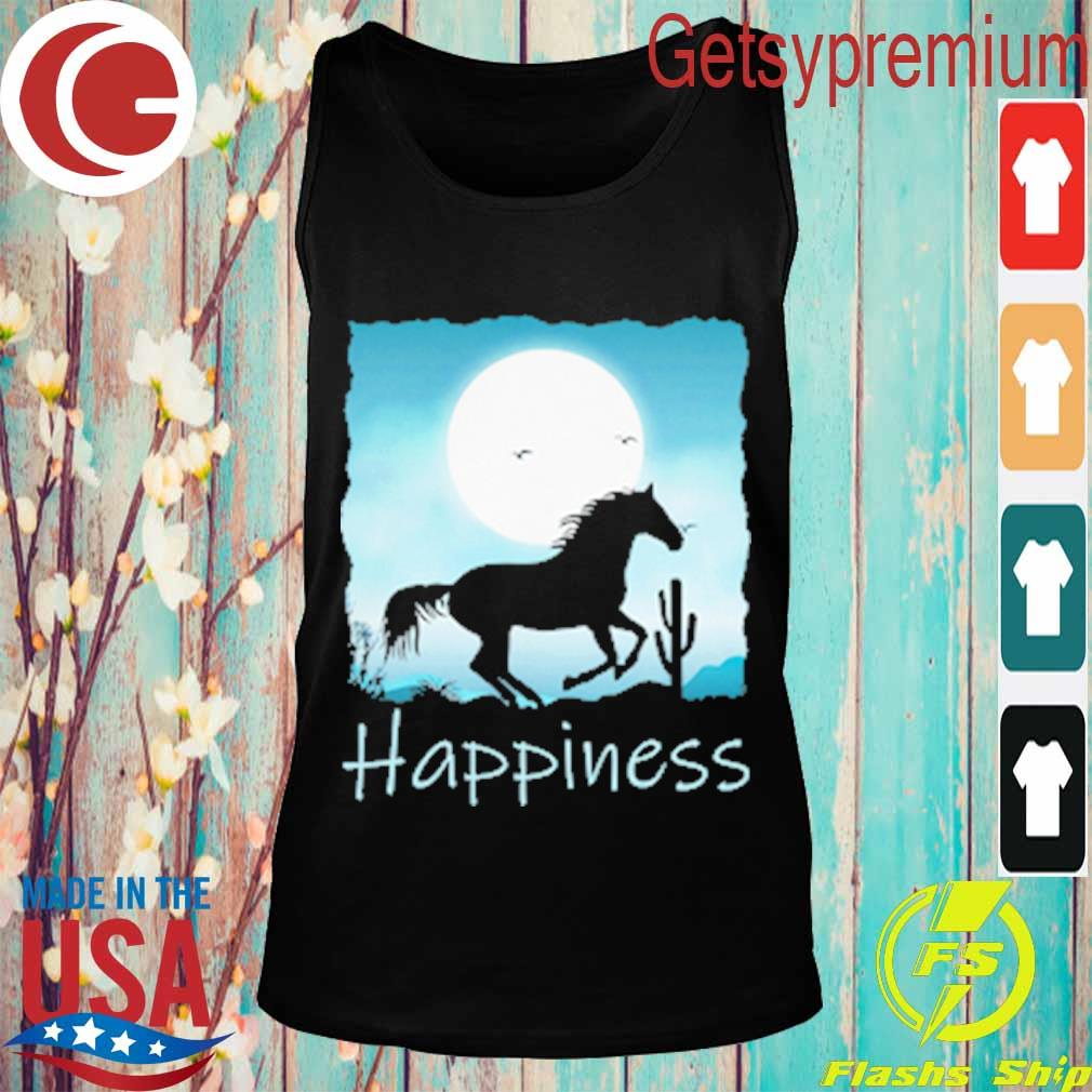 Horse moon Happiness s Tank top