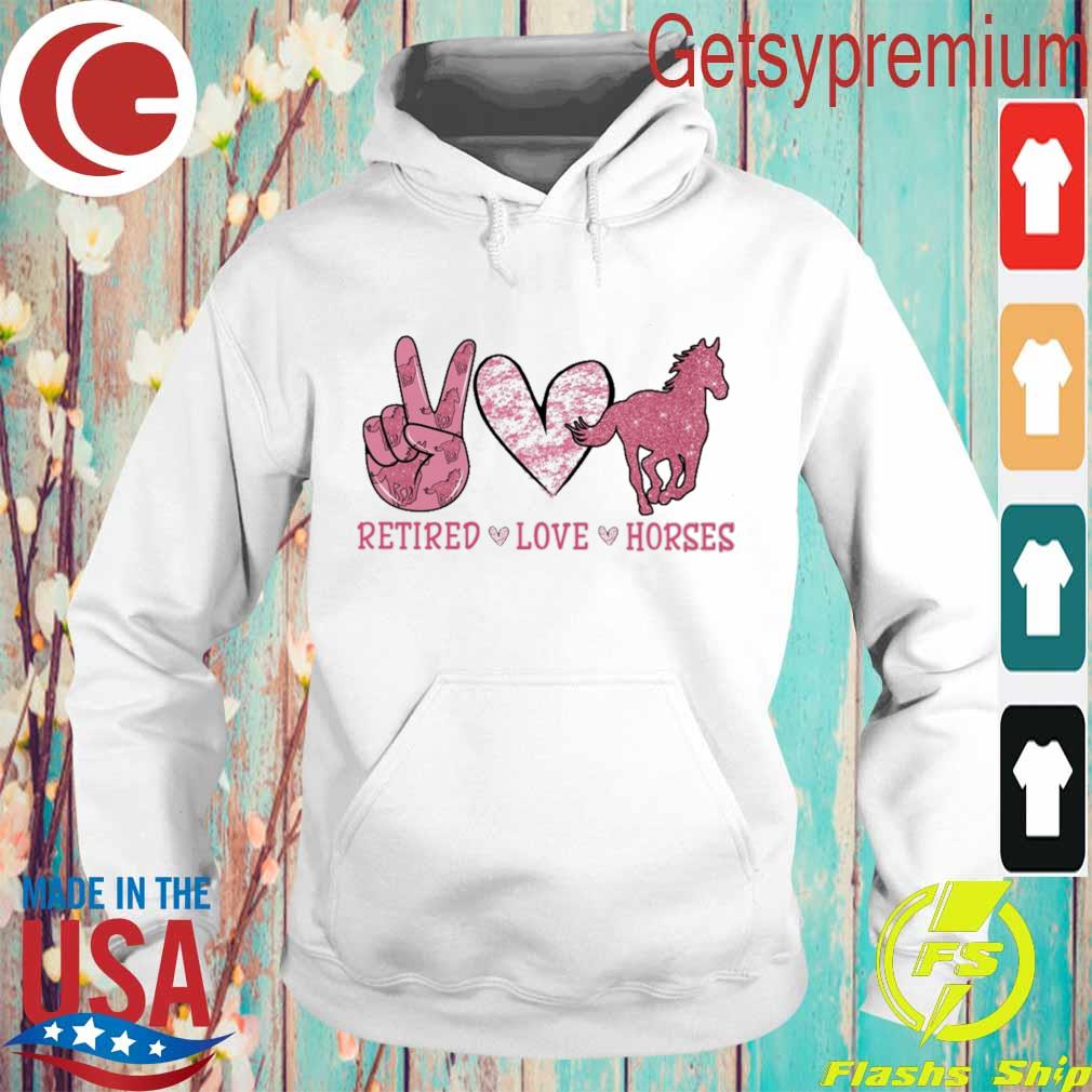 Retired Love Horses diamond s Hoodie
