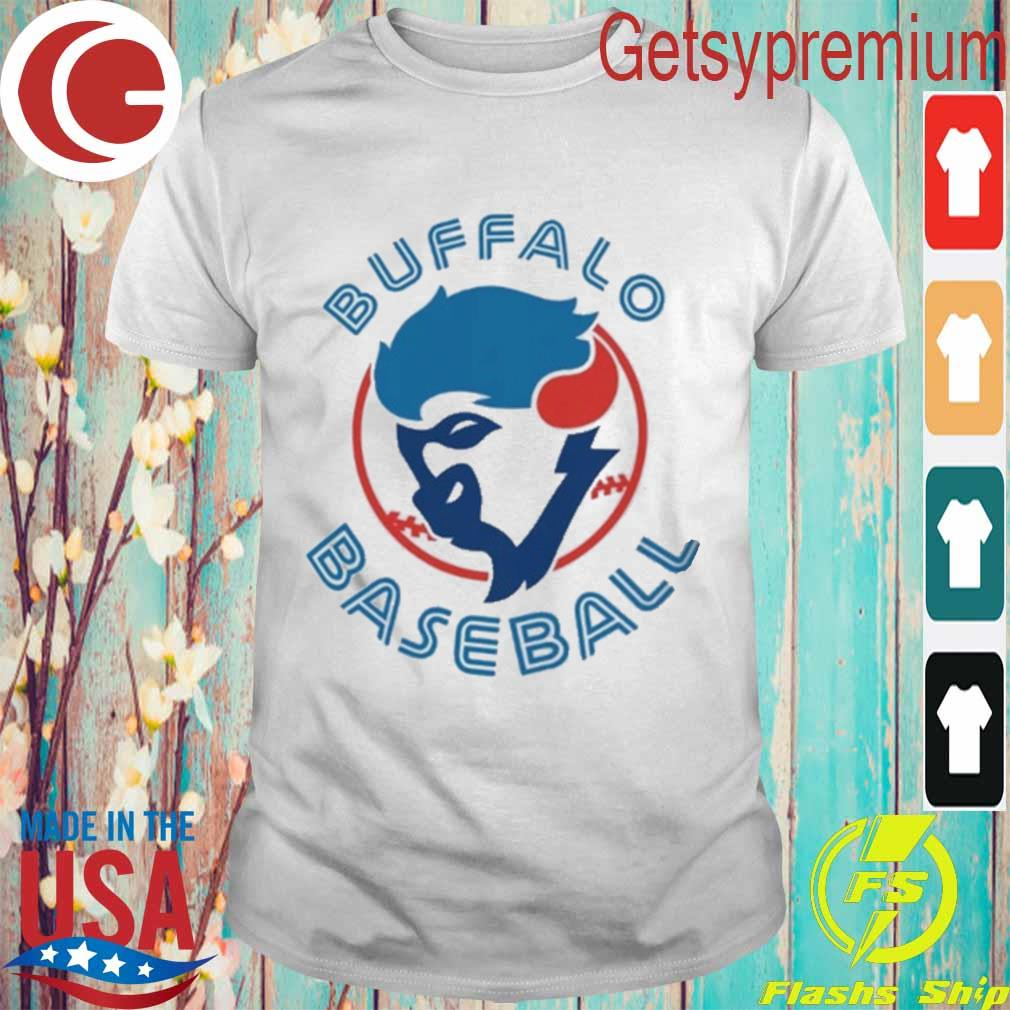 Buffalo baseball logo shirt