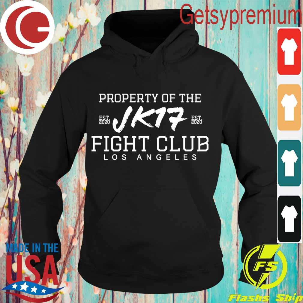 Joe Kelly Property of the Jk17 fight club Los Angeles s Hoodie