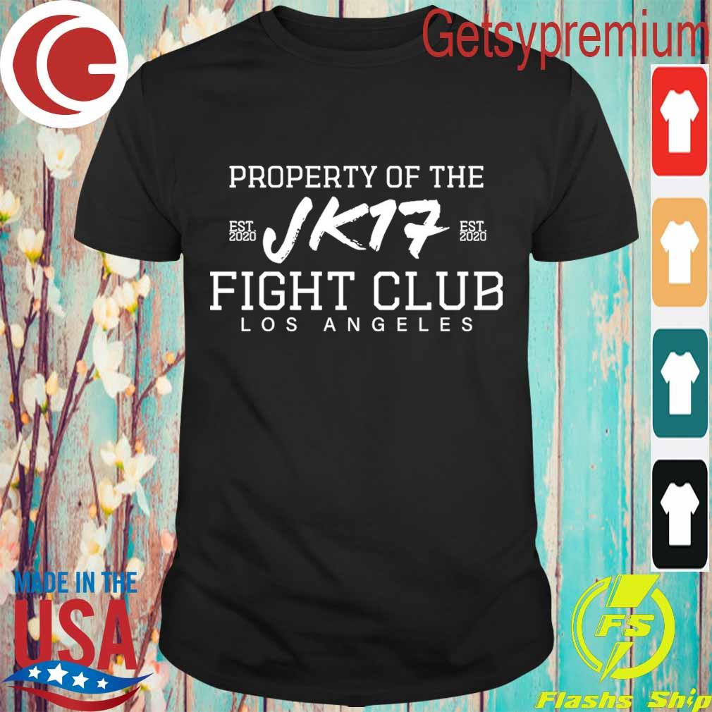 Joe Kelly Property of the Jk17 fight club Los Angeles shirt