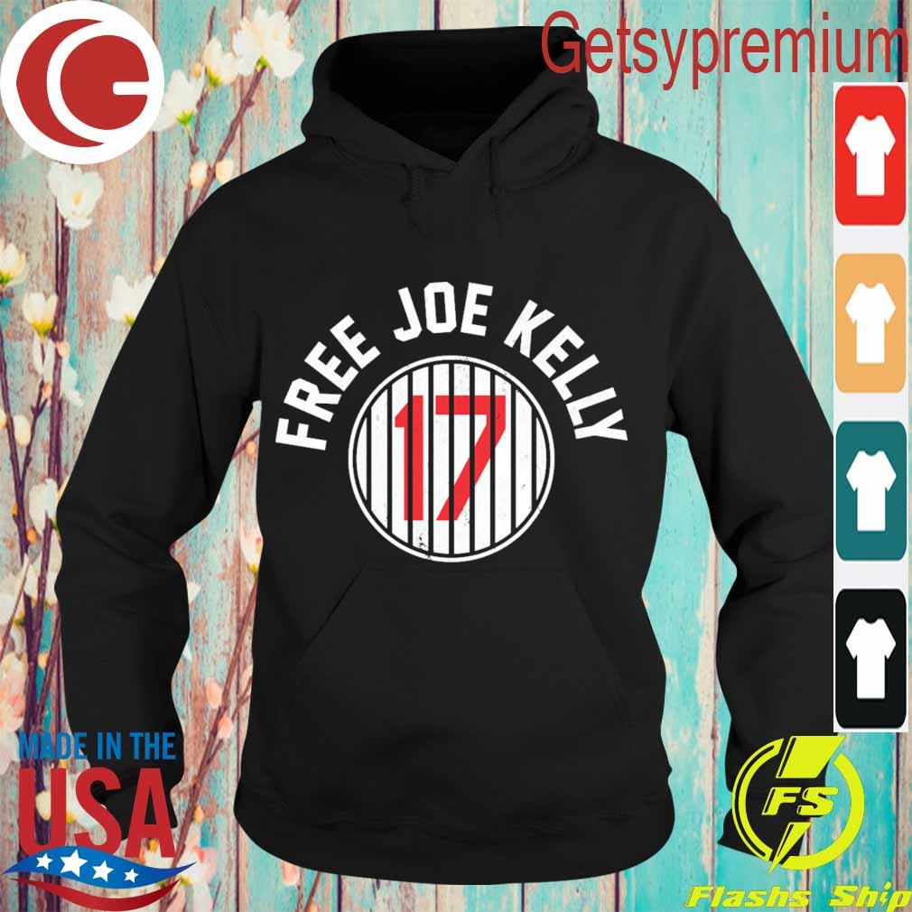 Los Angeles Dodgers 17 Free Joe Kelly s Hoodie