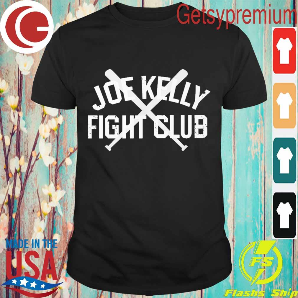 Official Joe Kelly fight club shirt