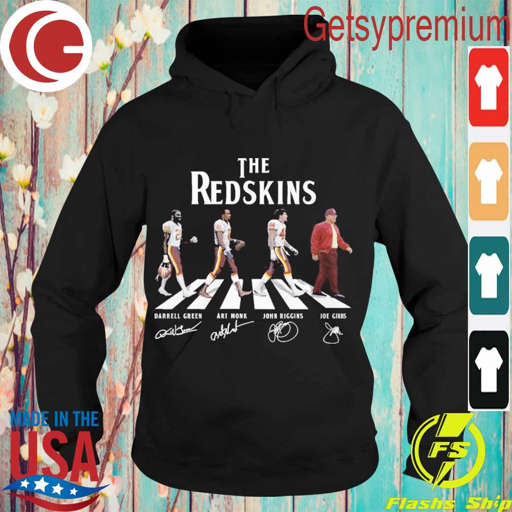 The Redskins team abbey road signatures s Hoodie
