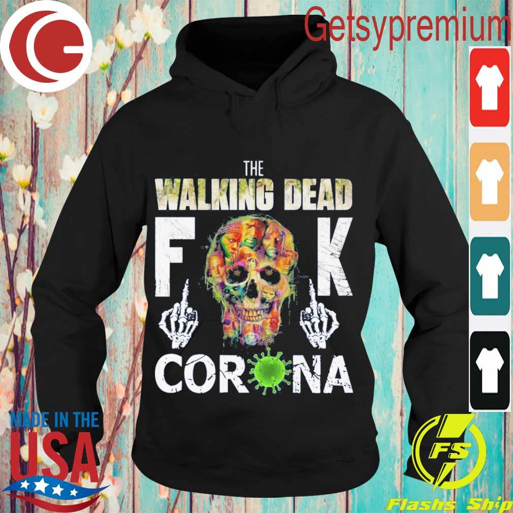 The Walking Dead skull fuck Corona s Hoodie