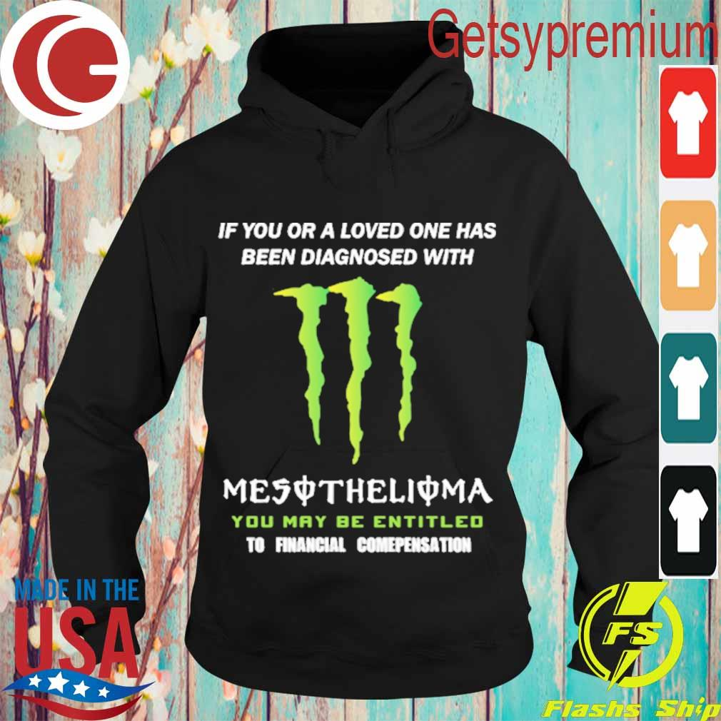 If You or a loved one has been diagnosed with Mesothelioma You may be entitled to financial compensation s Hoodie