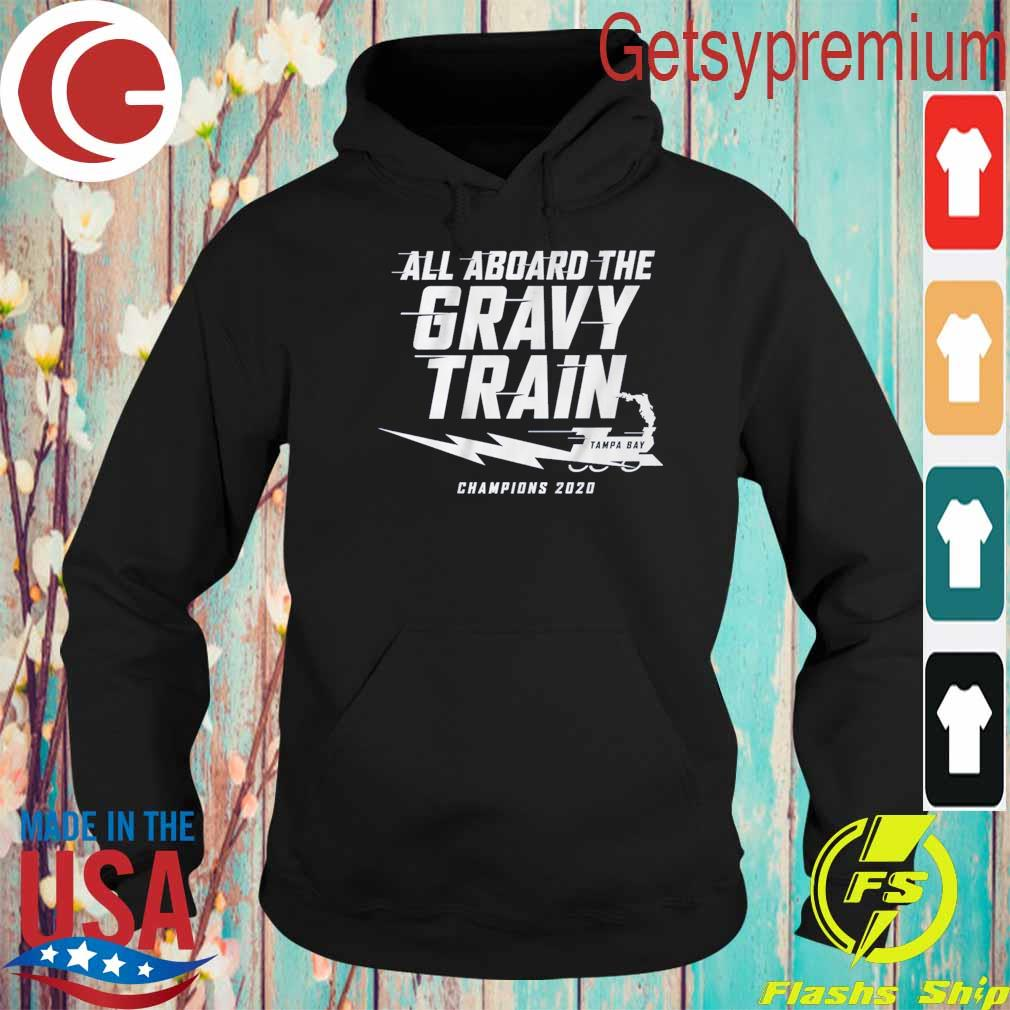 All aboard the Gravy Train Tampa Bay Lightning Champions 2020 s Hoodie