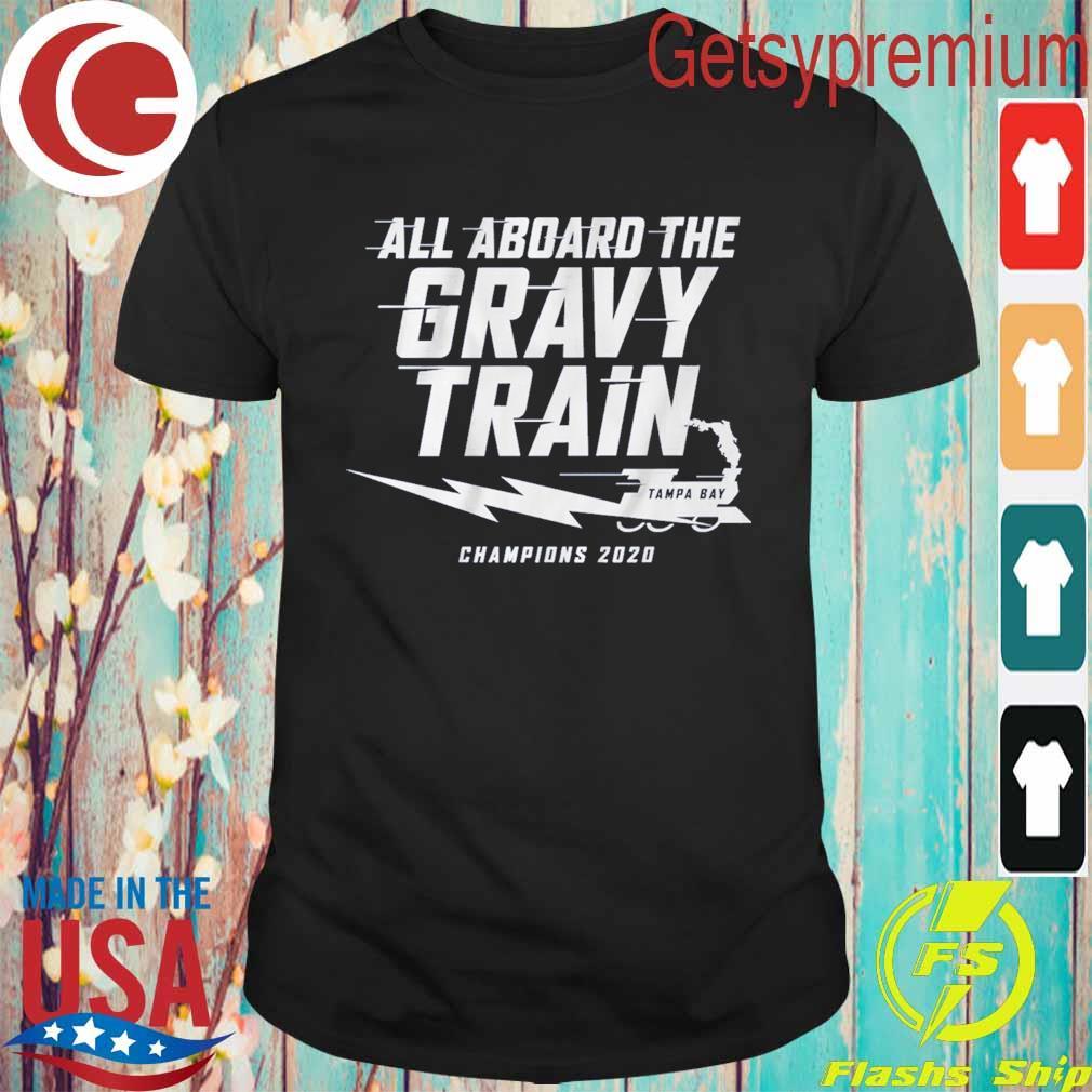 All aboard the Gravy Train Tampa Bay Lightning Champions 2020 shirt