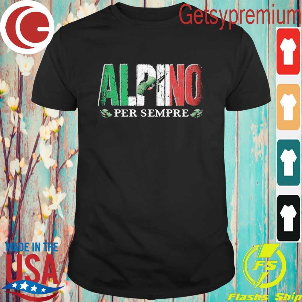 Alpino per sempre shirt