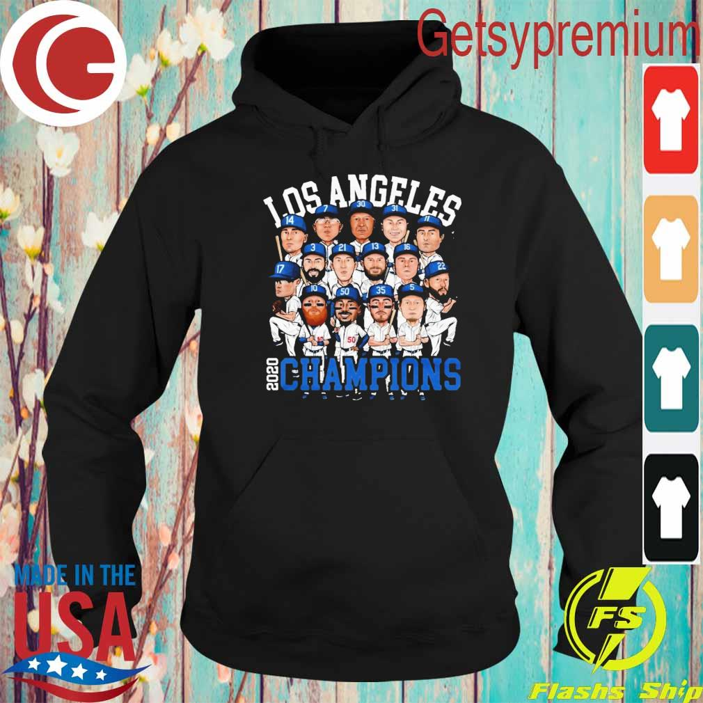 Chibi Los Angeles 2020 Dodgers World Series Champions s Hoodie