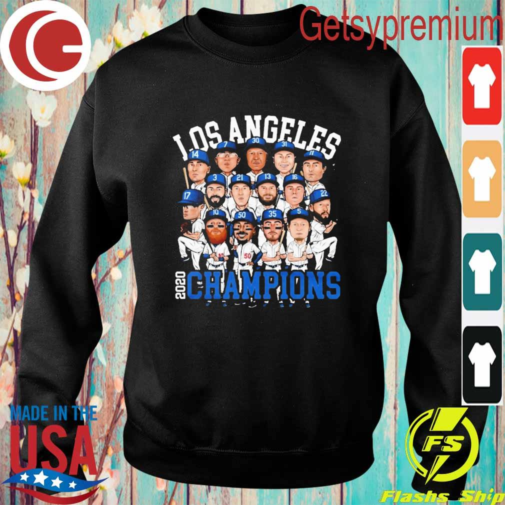 Chibi Los Angeles 2020 Dodgers World Series Champions s Sweatshirt