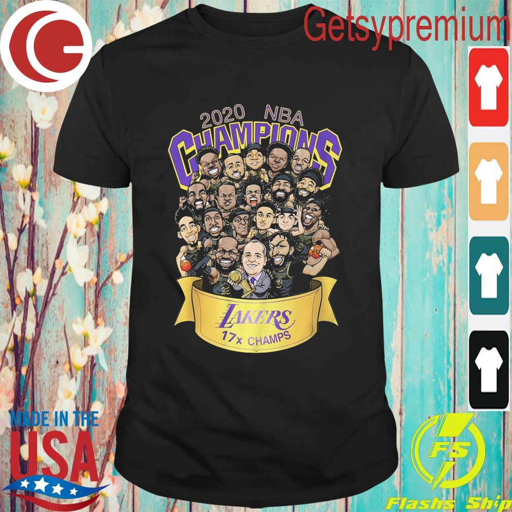 Chibi Los Angeles Lakers 2020 NBA Champions shirt