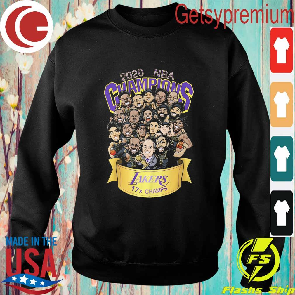 Chibi Los Angeles Lakers 2020 NBA Champions s Sweatshirt