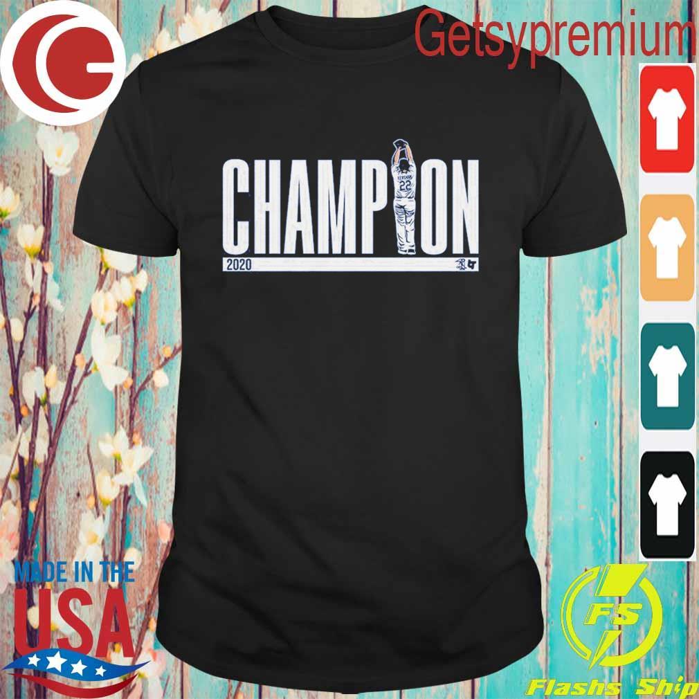 Kershaw los Angeles Dodgers MVP Champion 2020 shirt