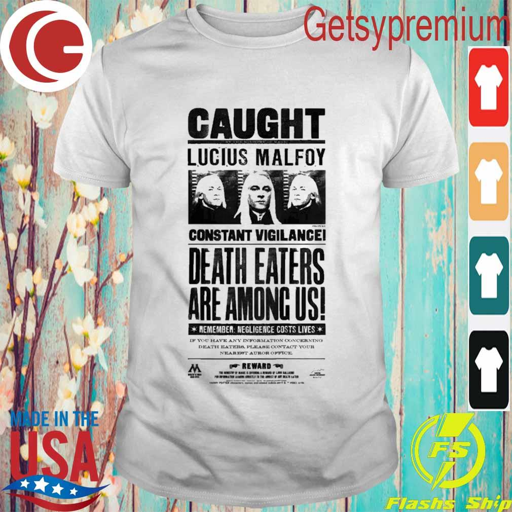 Kids Harry Potter Lucius Malfoy Caught Poster shirt