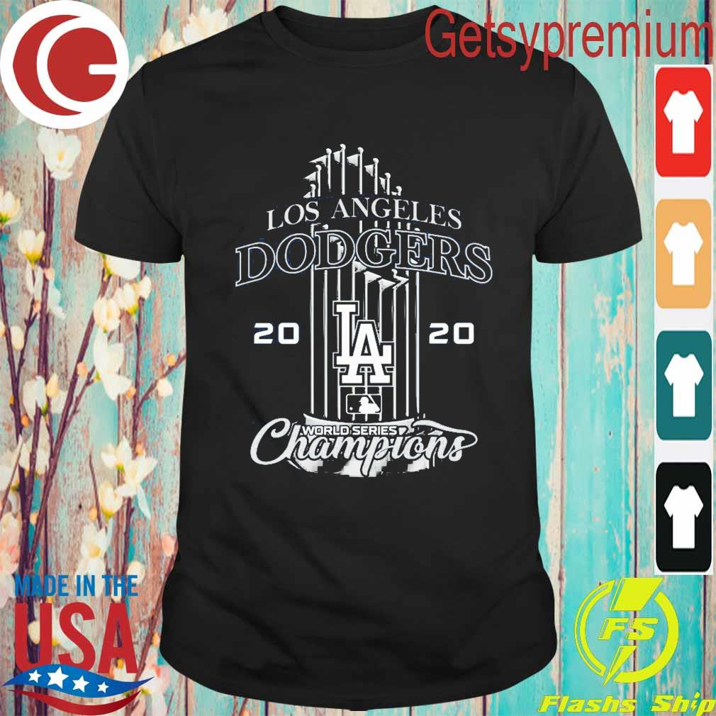 Los Angeles Dodgers 2020 World Series Champion shirt