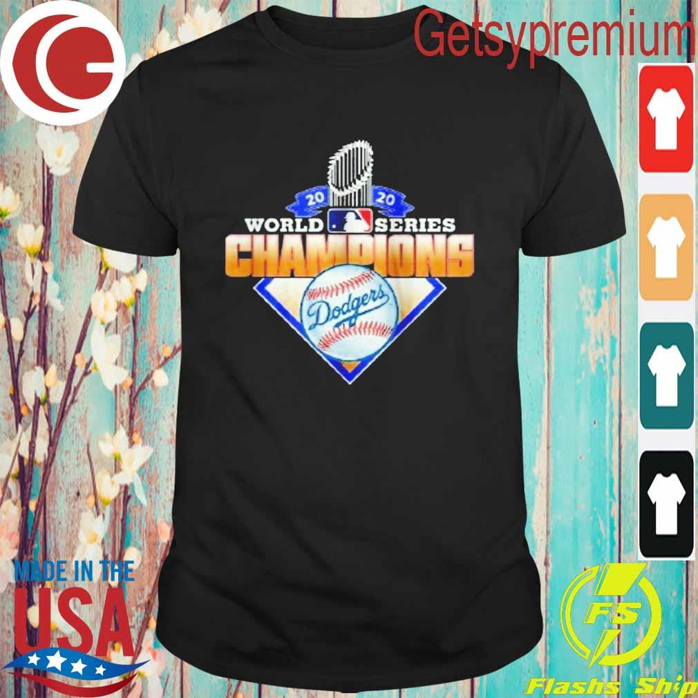 Los Angeles Dodgers 2020 World Series Champions League MLB shirt