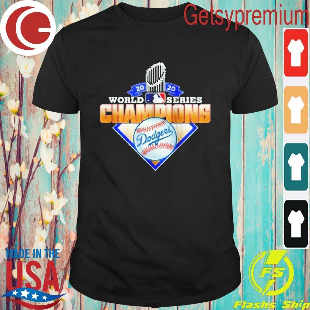 Los Angeles Dodgers 2020 World Series Champions League MLB shirt