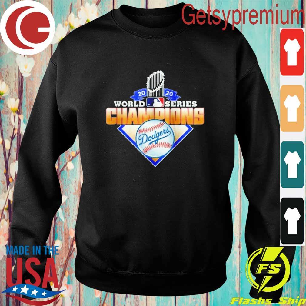 Los Angeles Dodgers 2020 World Series Champions League MLB s Sweatshirt