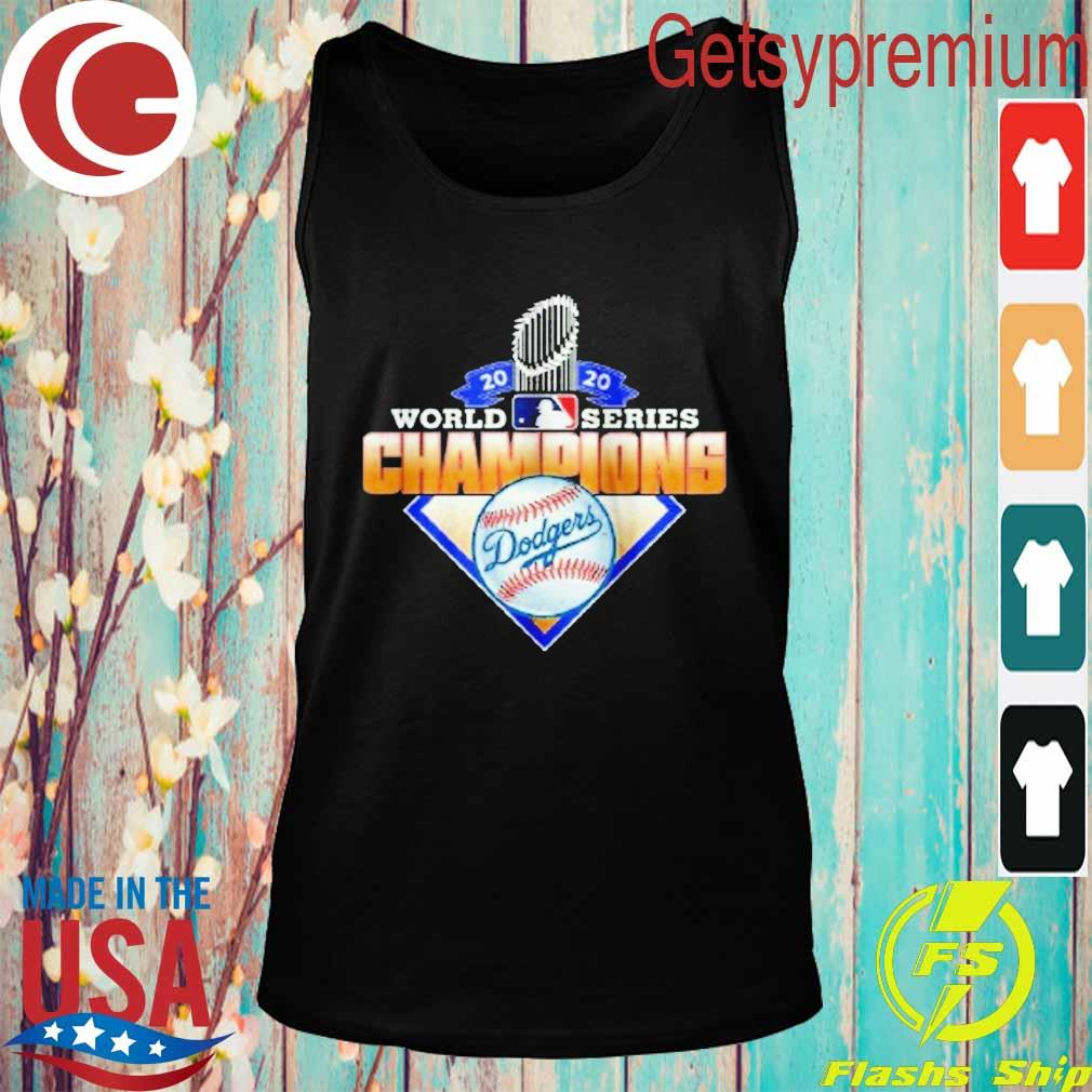 Los Angeles Dodgers 2020 World Series Champions League MLB s Tank top