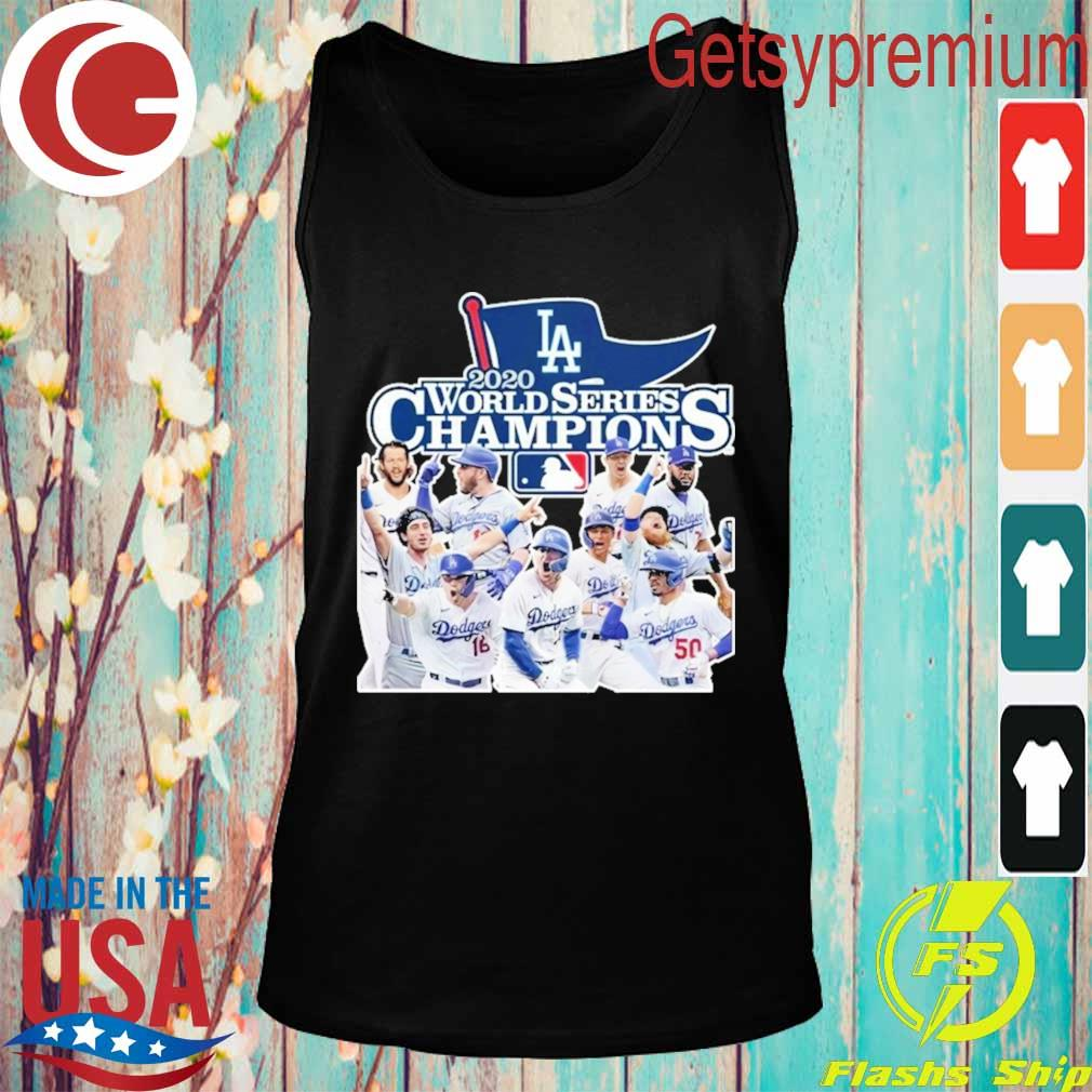 Los Angeles Dodgers 2020 World Series Champions s Tank top