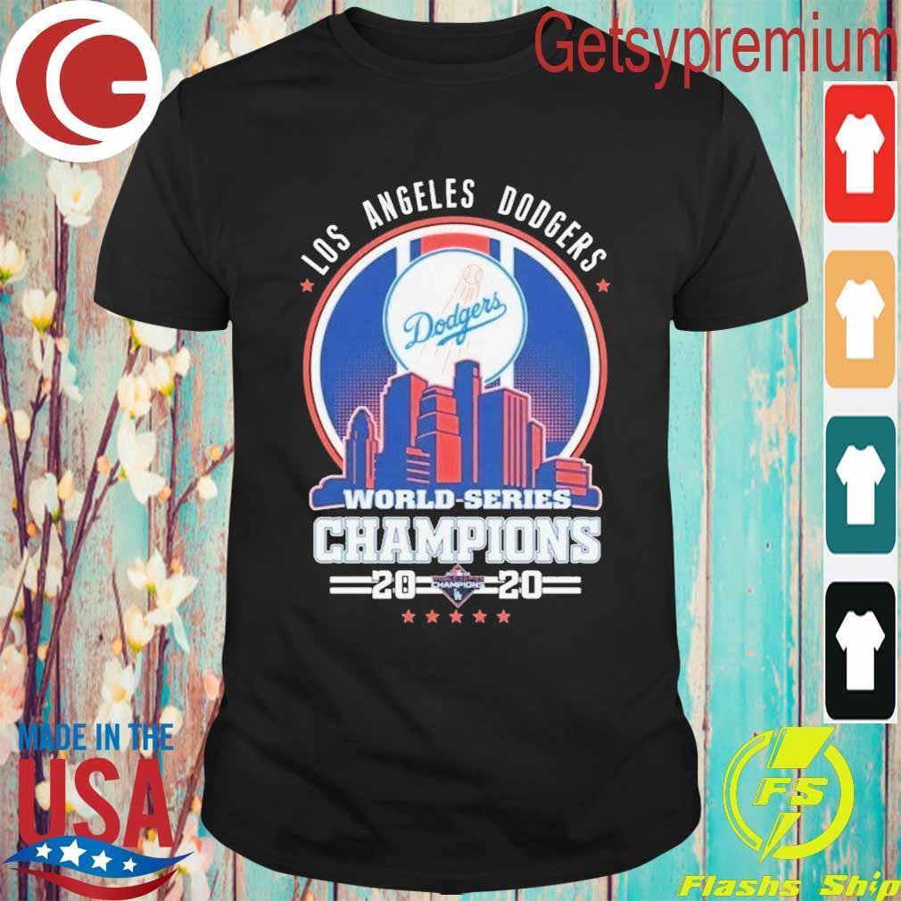 Los Angeles Dodgers World Series Champions 2020 Baseball MLB shirt