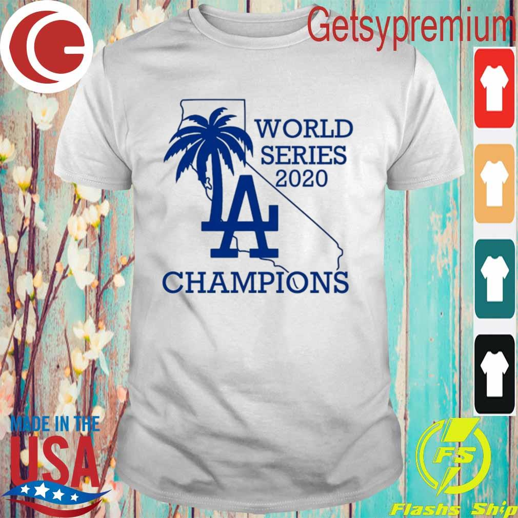 Official Dodgers World Series Champions LA 2020 shirt