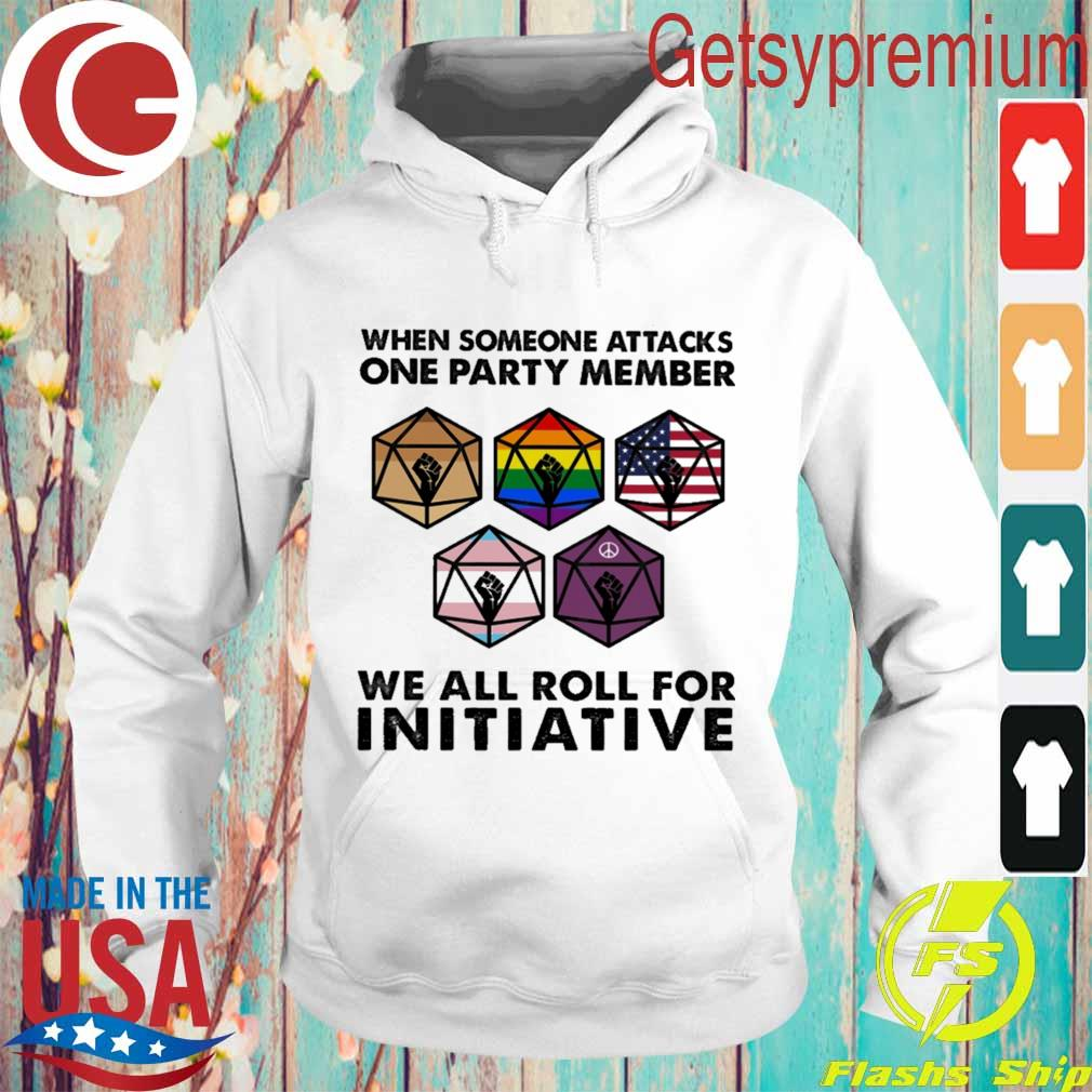 Official When someone attacks one party member we all roll for Initiative s Hoodie