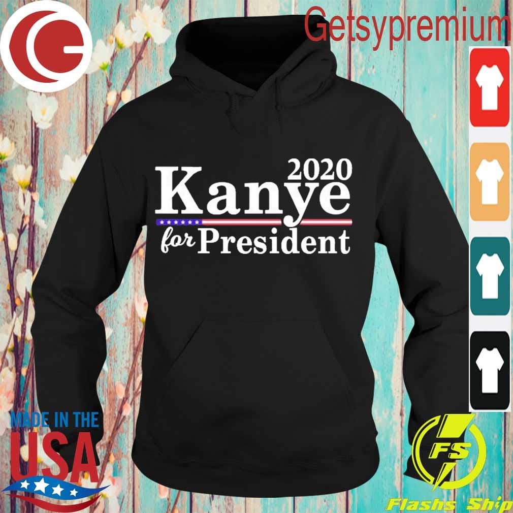 Wild Bobby 2020 Kanye for President Vote Campaign Mens Political Long Sleeve s Hoodie