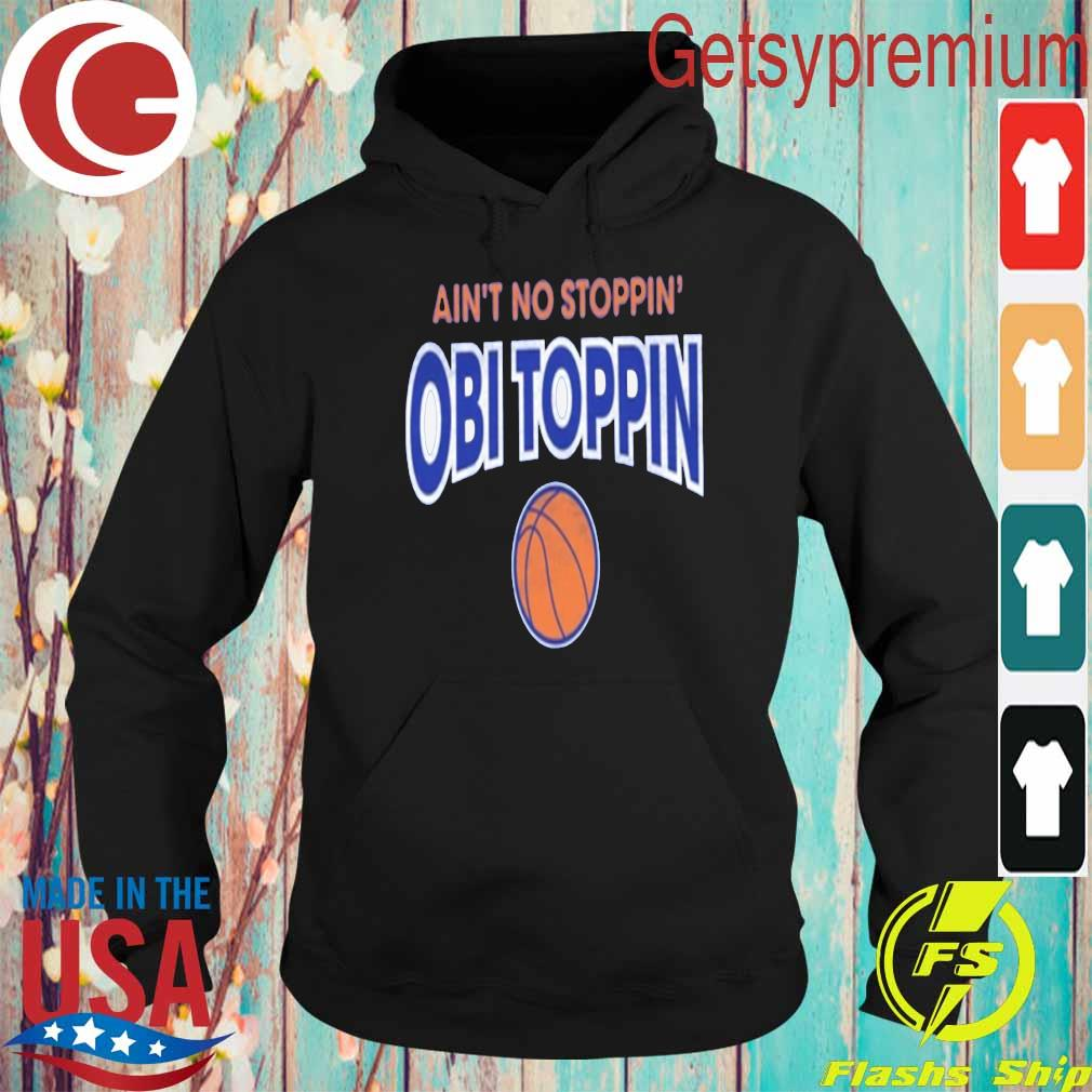 Ain't no stoppin' Obi Toppin Basketball s Hoodie