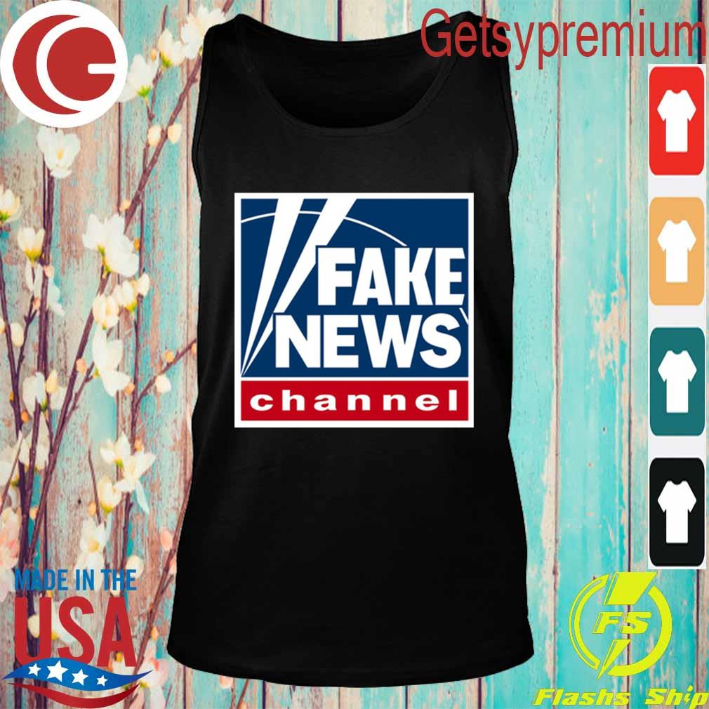 Fake News channel s Tank top