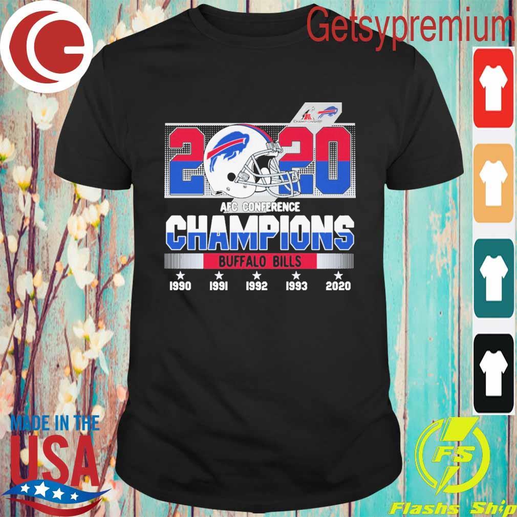2020 Nfc Conference Champions Buffalo Bills 1990 2020 shirt
