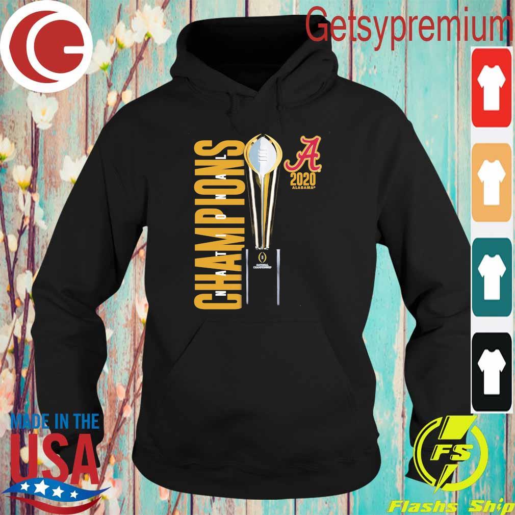 Alabama Crimson Tide Fanatics Branded College Football Playoff 2020 National Champions Celebration s Hoodie