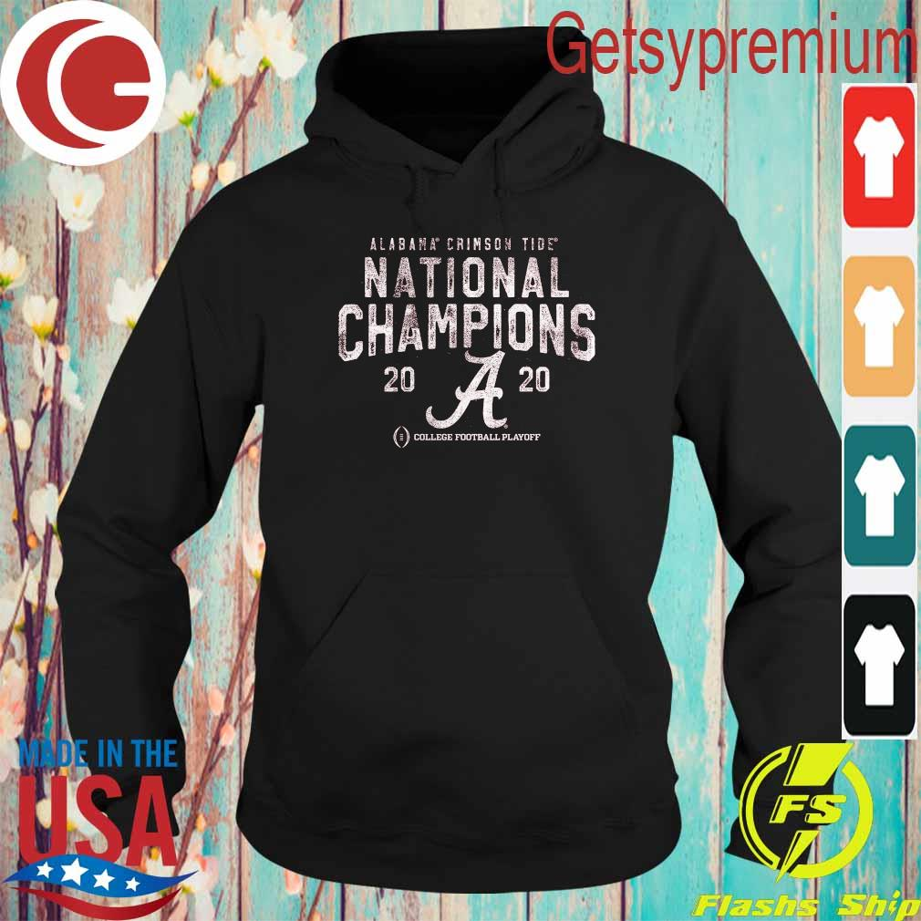 Alabama Crimson Tide Fanatics Branded College Football Playoff 2020 National Champions Pocket Tri-Blend s Hoodie