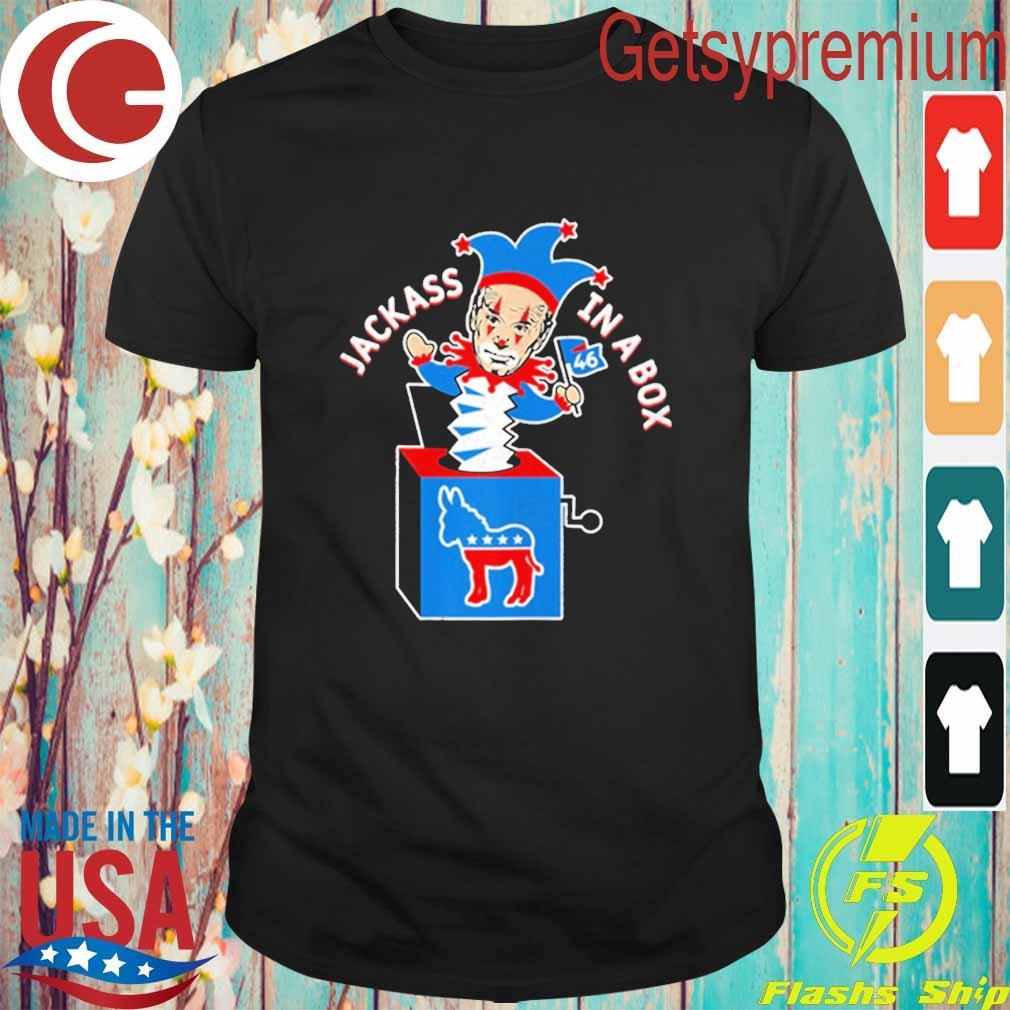 Donkey Biden Box Not My President Anti Biden Political Clown shirt