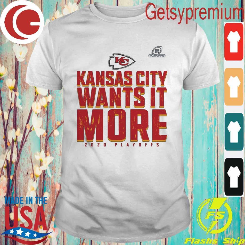 Kansas City Chiefs Wants It More 2020 Playoffs shirt
