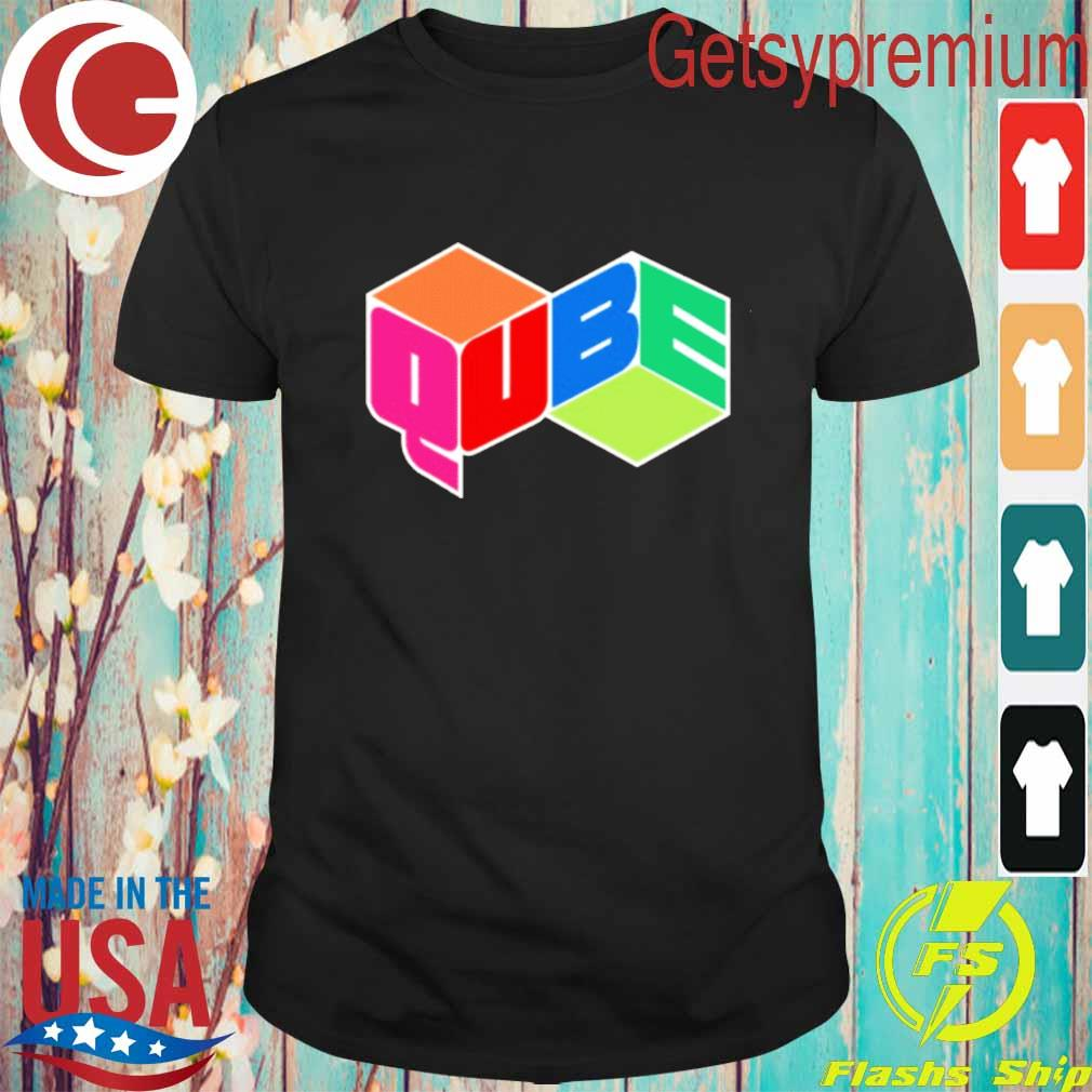 Official qube cable tv t-shirt