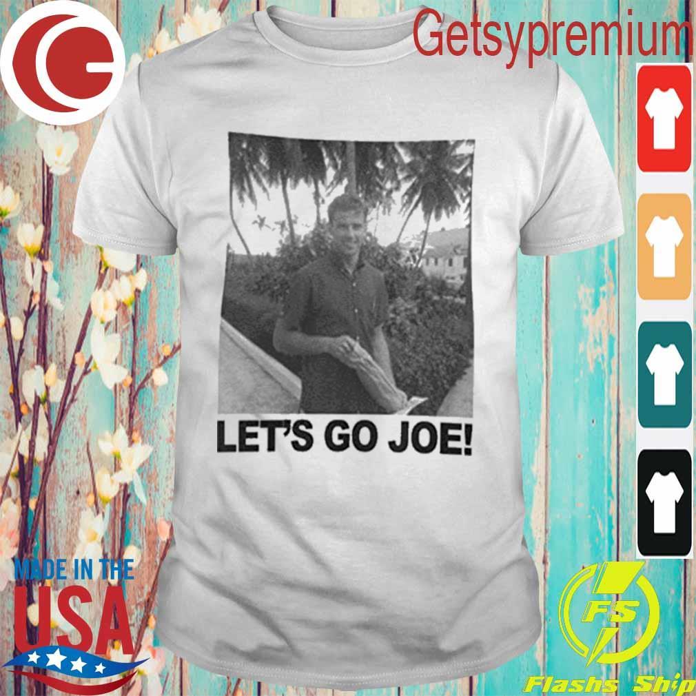 Young Joe Biden Let's go Joe Shirt